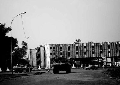 Miska presidia Bangui.
