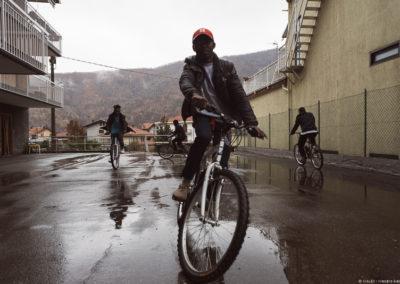 Biciclette per i rifugiati