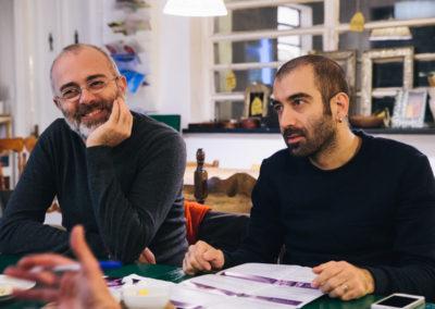 Achille Schiavone e Murat Cinar